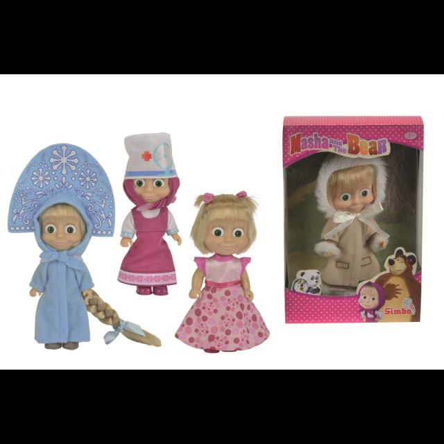 Papusa Masha and the Bear,Style,12cm