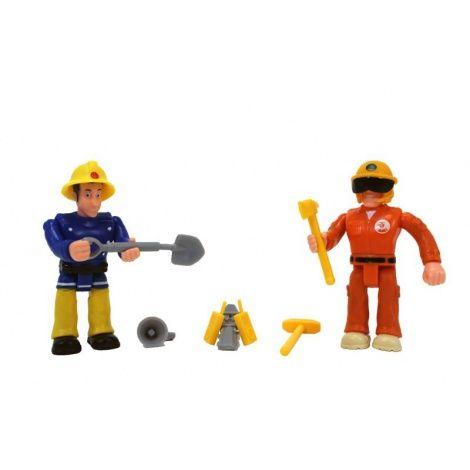 Figurina pompierul Sam,2buc/blister,7.5cm