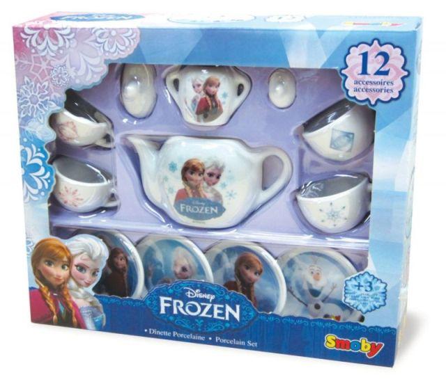 Set ceai,Frozen,portelan,12 piese