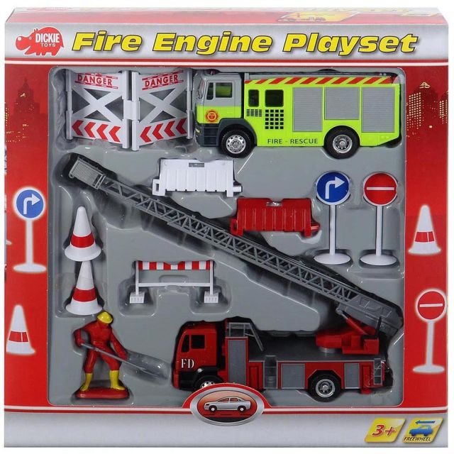 Masina interventie Dickie,pompieri,accesorii