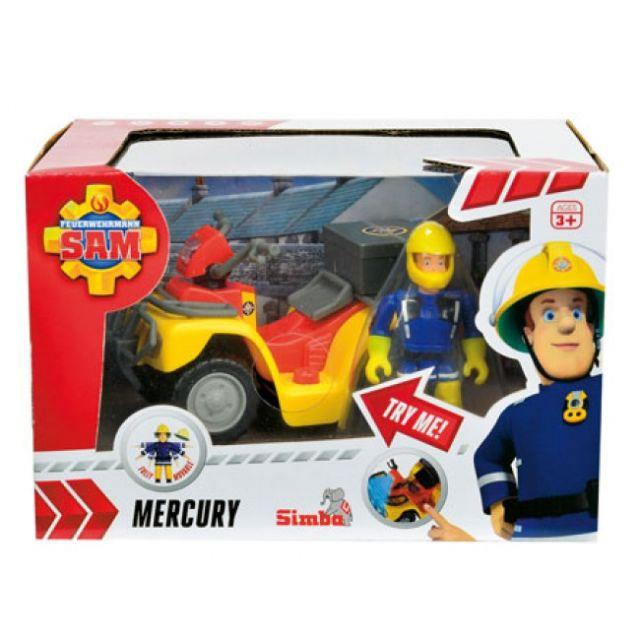 Masina pompierul Sam,Mercury,cu figurina