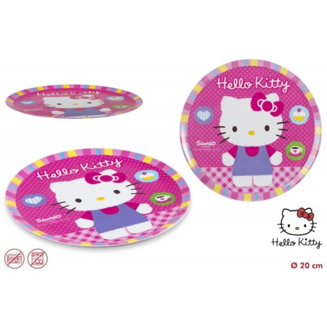 Farfurie melamina,Hello Kitty