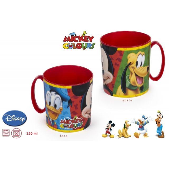 Cana plastic,35ml,Mickey