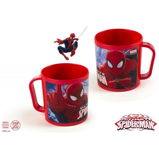 Cana plastic,35ml,Spiderman