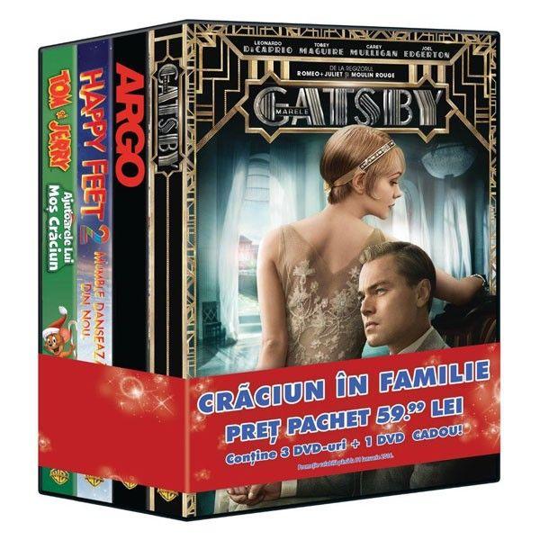 PACHET 4 DVD CRACIUN IN FAMIIE 3