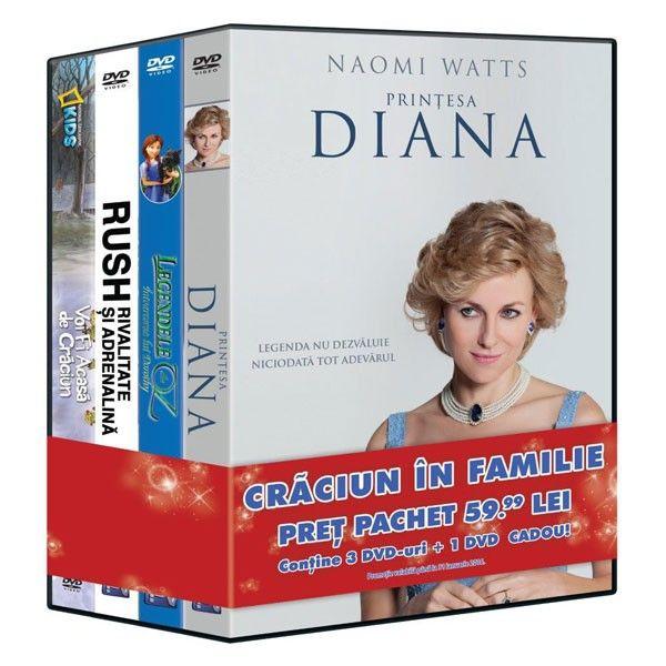 PACHET 4 DVD CRACIUN IN FAMIIE 1