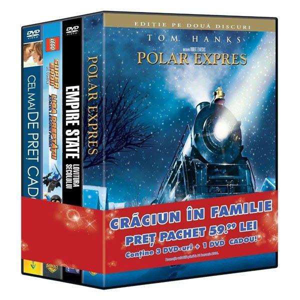 PACHET 4 DVD CRACIUN IN FAMIIE 4