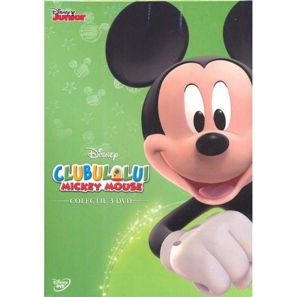 PACHET CLUBUL LUI MICKEY MOUSE: MICKEY (3disc)