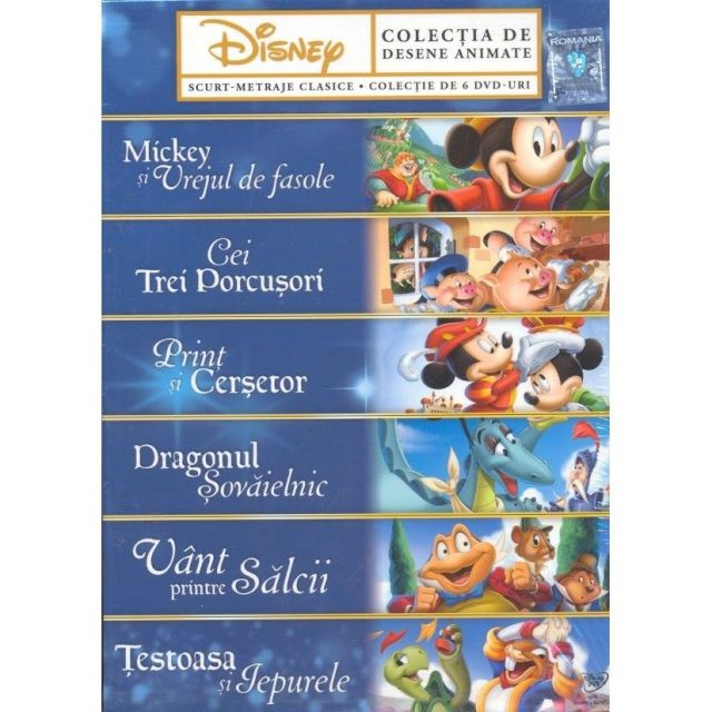 PACHET DISNEY COLLECTION (6 DVD)
