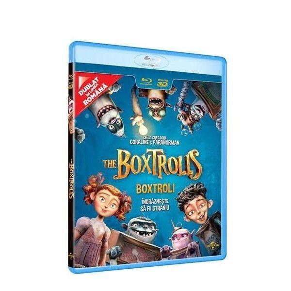 BD: BOXTROLLS - BOXTROLI 2D/3D