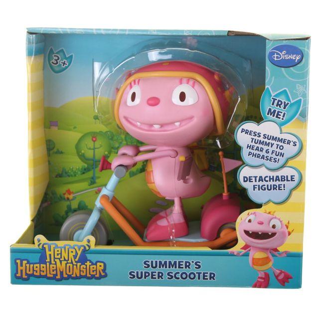 Figurina pe scuter,Hugglemonsters,Summer,interactiv