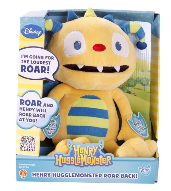 Plus Hugglemonsters,Henry,30cm,interactiv