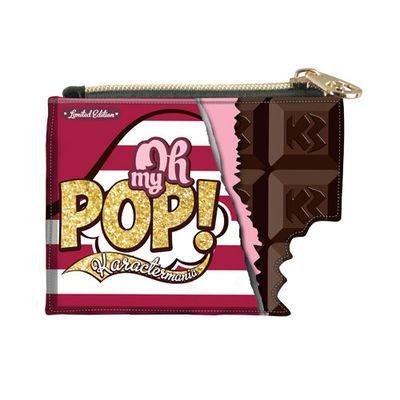Portofel 12x9x1cm,OhMyPop Chocolat