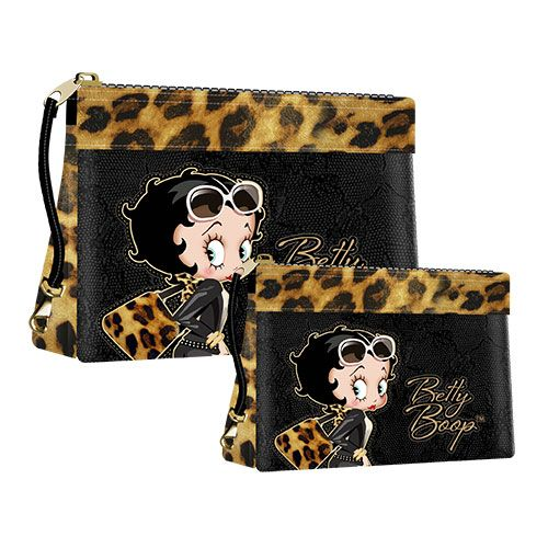 Geanta cosmetice BB Leopard,2buc/set