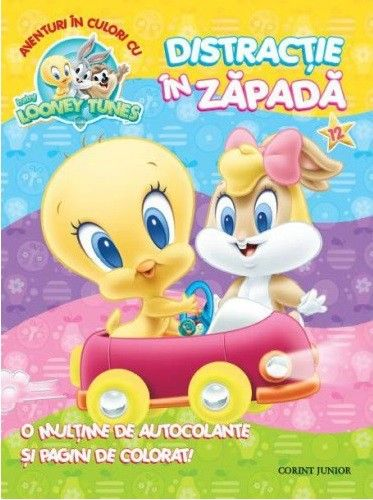 BABY LOONEY TUNES. AVENTURI IN CULORI CU DISTRACTIE IN ZAPADA. VOL 12