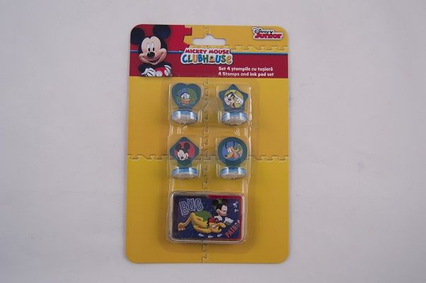 Stampile 4buc/set,Mickey