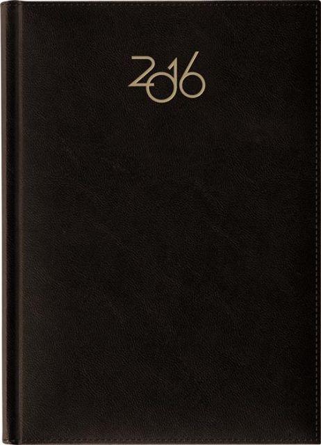 Agenda A4,datata,ArtiLux,h.ivory,negru