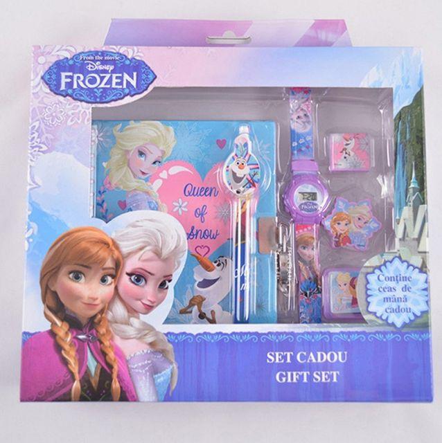 Set agenda cu instrumente,6piese,Frozen