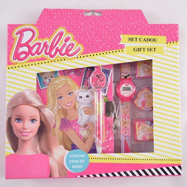Set agenda cu instrumente,6piese,Barbie