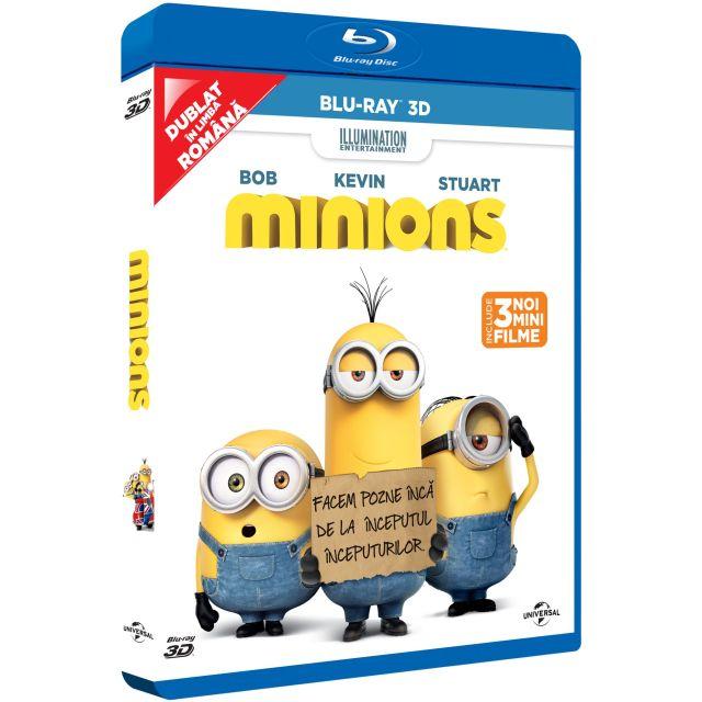 BD: MINIONS - MINIONI 3D