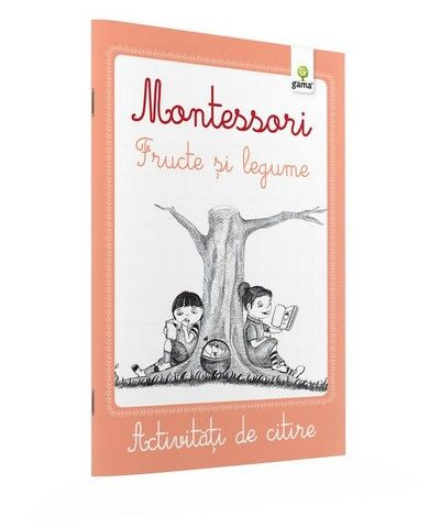 LEGUME SI FRUCTE / CAIETE ACTIVITATI DE CITIRE MONTESSORI