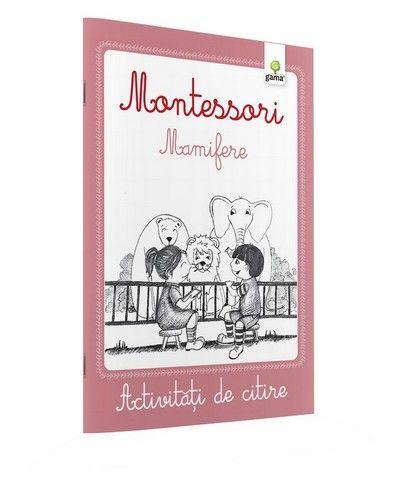 MAMIFERE / CAIETE ACTIVITATI DE CITIRE MONTESSORI