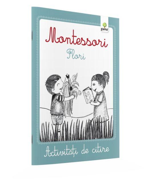 FLORI / CAIETE ACTIVITATI DE CITIRE MONTESSORI