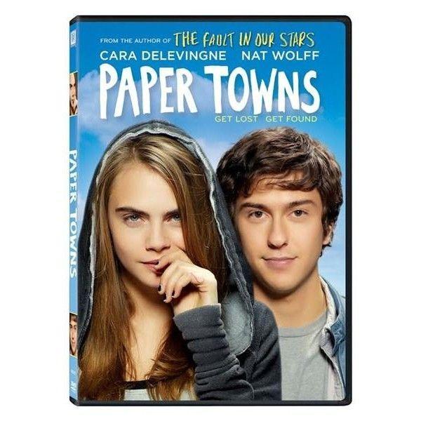 PAPER TOWNS - ORASE DE HARTIE