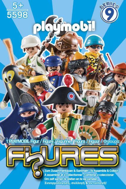 Playmobil-Figurine baieti,seria 9