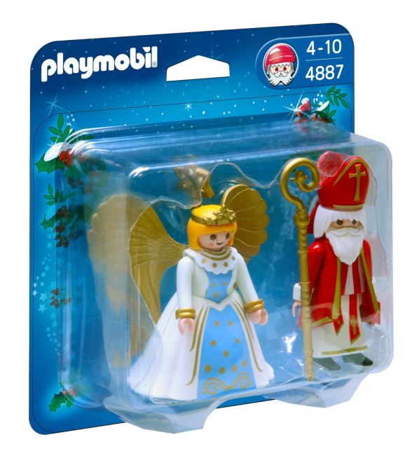 Playmobil-Sfantul Nicolae si ingeras