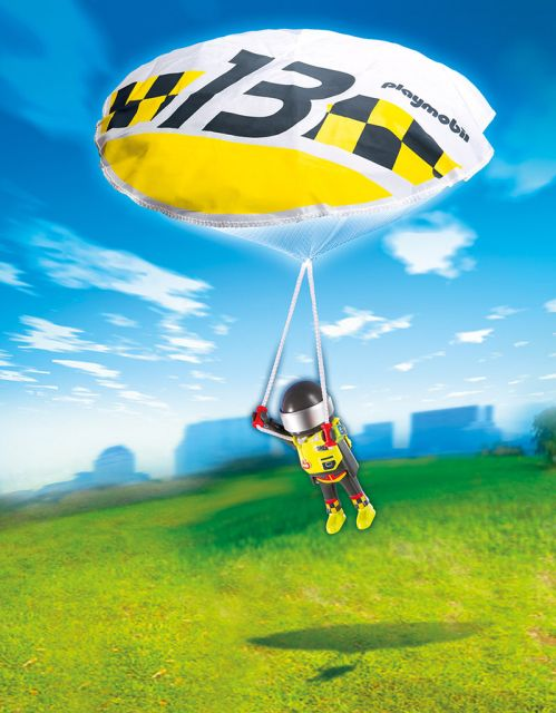 Playmobil-Parasutist Greg