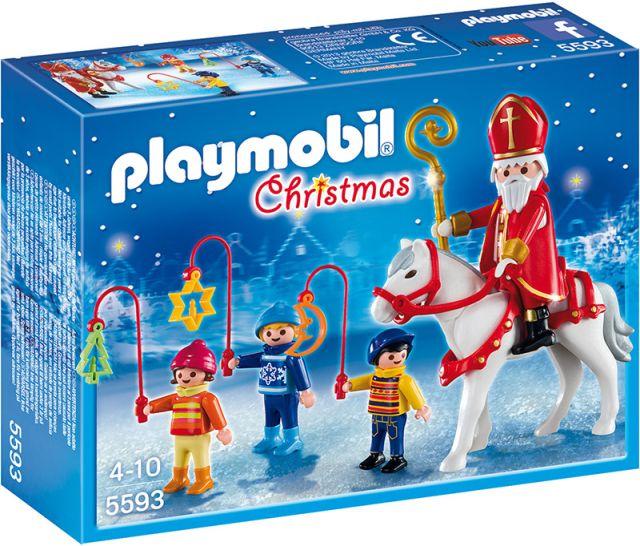 Playmobil-Sfantul Nicolae si colindatori