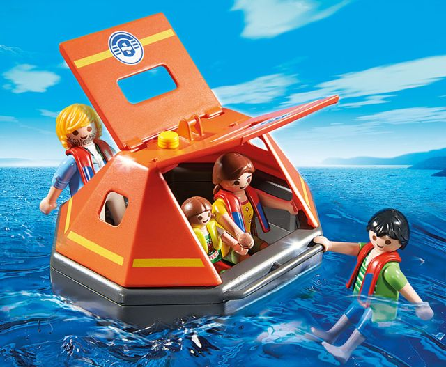 Playmobil-Pontonul de salvare