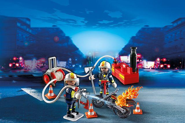 Playmobil-Pompier cu furtun