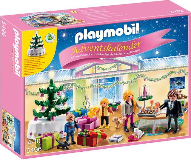 Playmobil-Calendar,Camera de Craciun cu brad