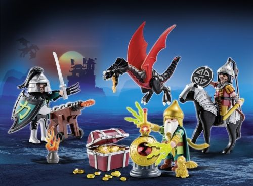 Playmobil-Calendar Craciun,Batalia dragonilor