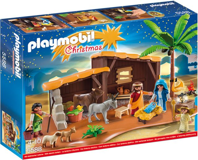 Playmobil-Nasterea Domnului in iesle