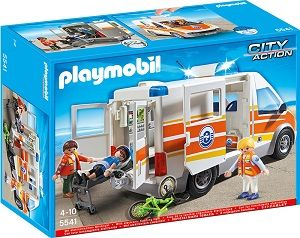 Playmobil-Ambulanta