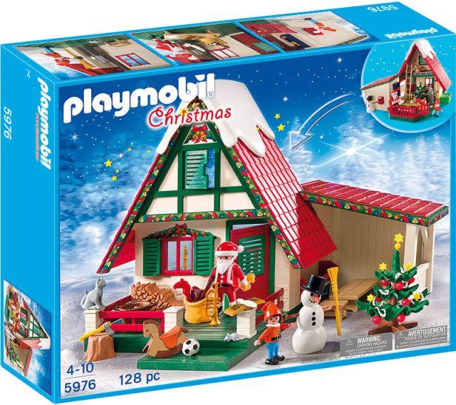 Playmobil-Casa lui Mos Craciun
