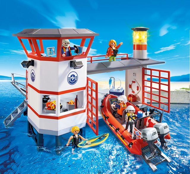 Playmobil-Statie de salvamari,farul luminos
