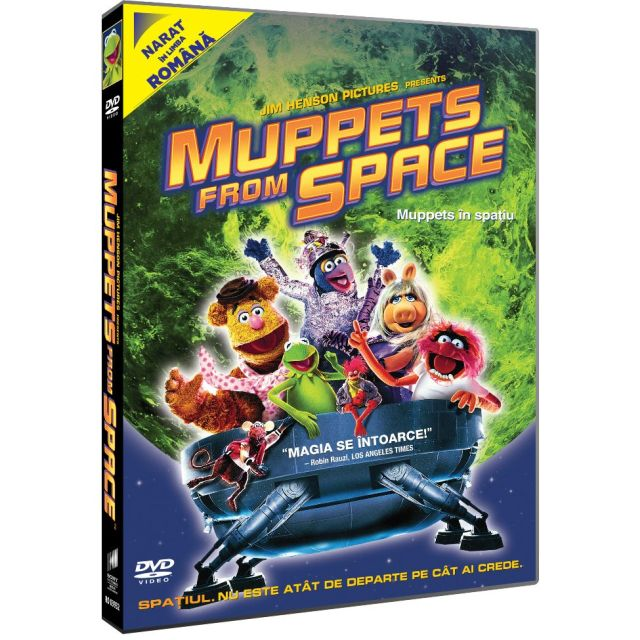 MUPPETS FROM SPACE - Muppets In Spatiu
