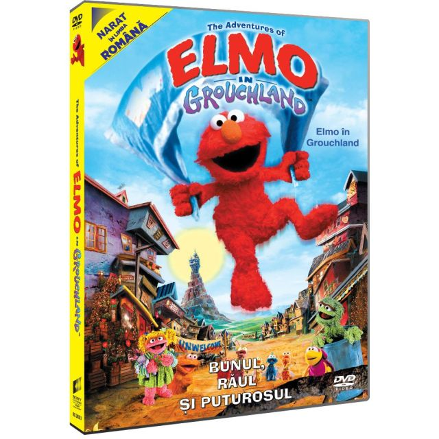 THE ADVENTURES OF ELMO IN GROUCHLAND - Elmo in Grouchland