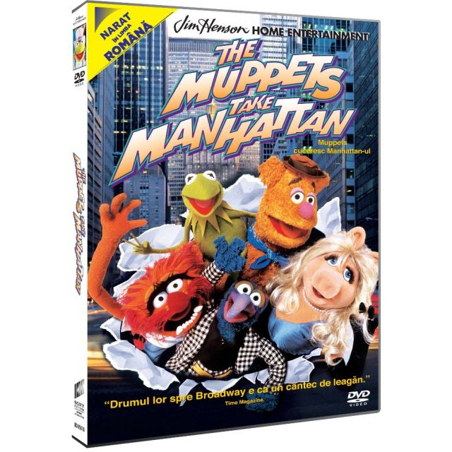 MUPPETS TAKE MANHATTAN -...