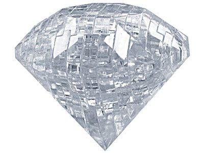 Puzzle 3D cristal, diamant