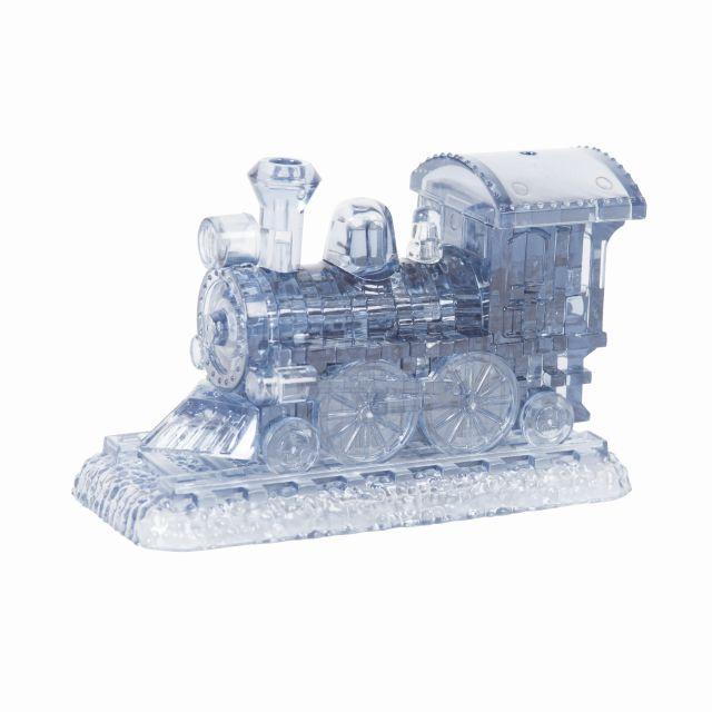 Puzzle 3D cristal, tren