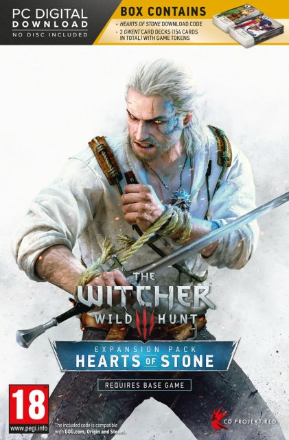 THE WITCHER 3 WILD HUNT HEARTS OF STONE (EXPANSION PACK) - PC