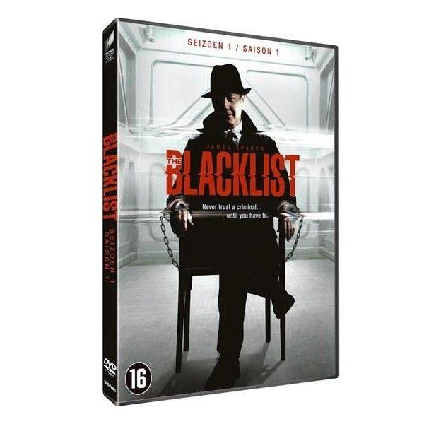 BLACKLIST SEASON 1 DVD (Set 6 DVDs)