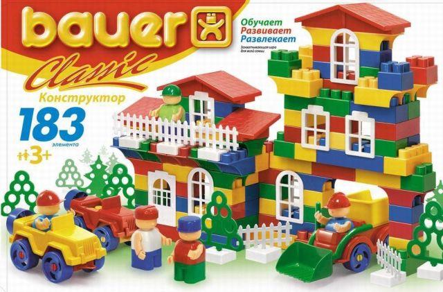 Bauer-Constructie,set clasic ,183pcs