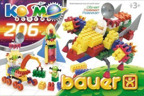 Bauer-Constructie statie spatiala,206pcs