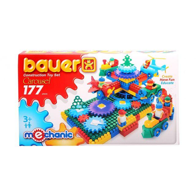 Bauer-Constructie,carusel mecanic,177pcs